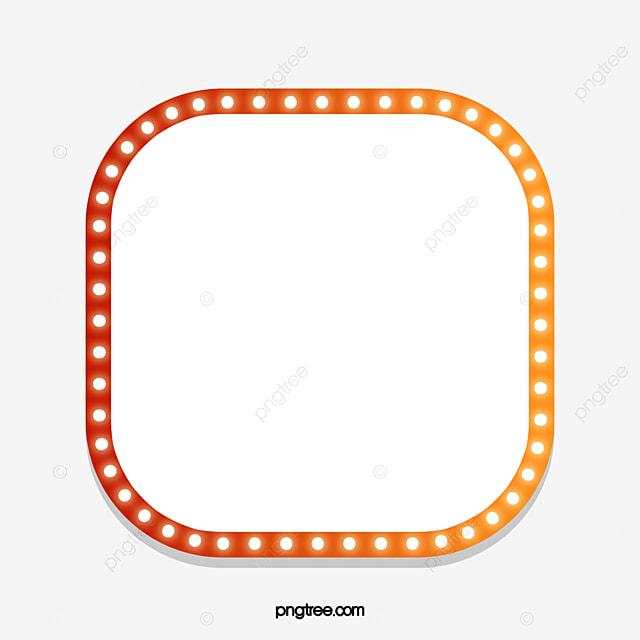 Light Bulb Light Orange Border, Orange Clipart, Light Bulb, Light ...