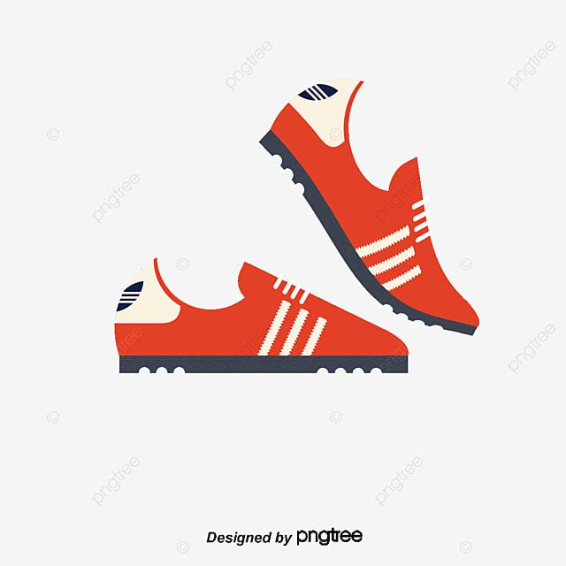 cartoon sneakers material cartoon vector vector shoes cartoon