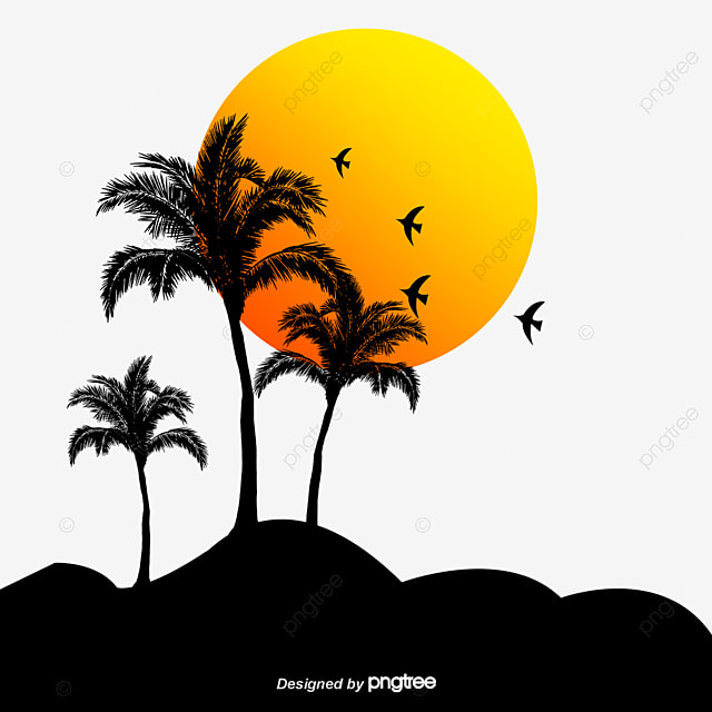 beach sunset vector material sunset sunset png and vector for rh pngtree com free vector sunglasses free vector mustache