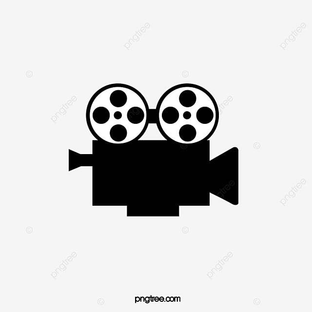 film video machine video clipart black leave the material png rh pngtree com video clip art cougar chat video clipart black and white