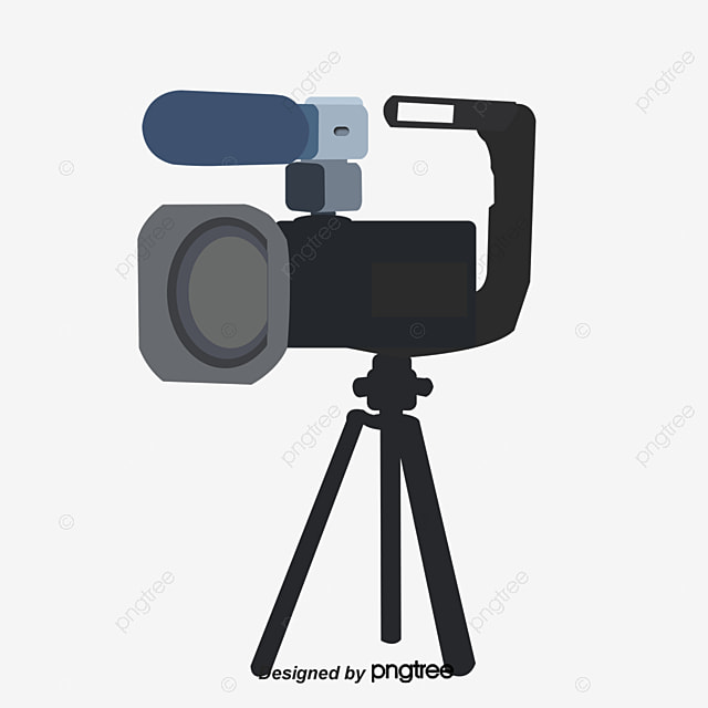 black video camera hd large picture video recorder filming leave rh pngtree com free clipart video camera video camera clipart black and white