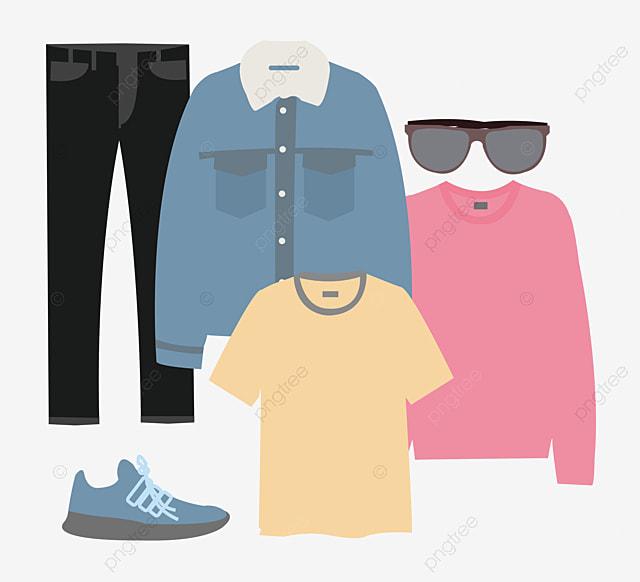 Cartoon Vêtements Fille, Dessin, Des Plis De Vêtements ...