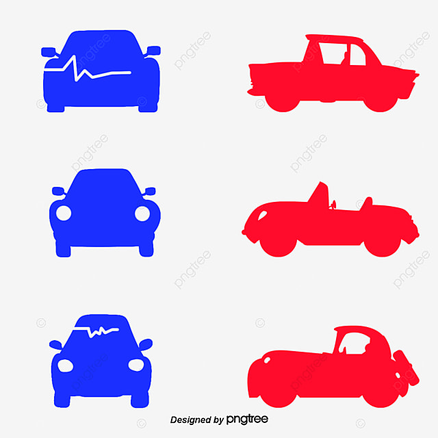 Vector Red Pens Car Logo Design Car Vector Logo Vector Vector