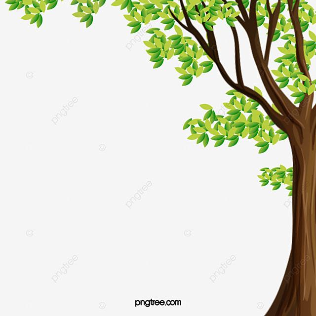 Borders Around Trees: Fresh Green PNG Big Tree Fresco Arboles Verdes Imagen PNG