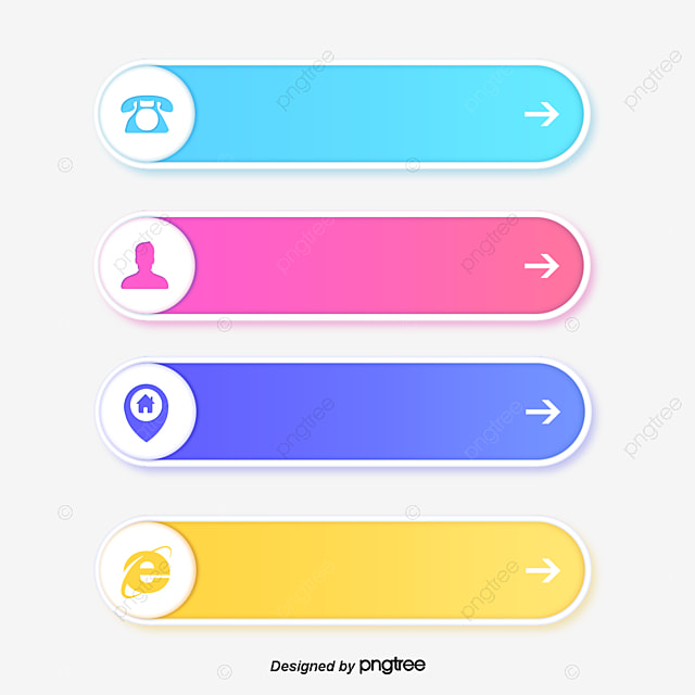 shadow effect contact us vector material web design