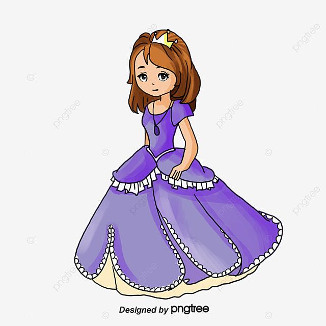 Princesa Dos Desenhos Animados Cartoon Linda Linda Arquivo Png