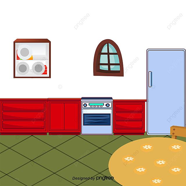 Cocina de dibujos animados muebles de cocina for Programas de dibujo de cocinas gratis