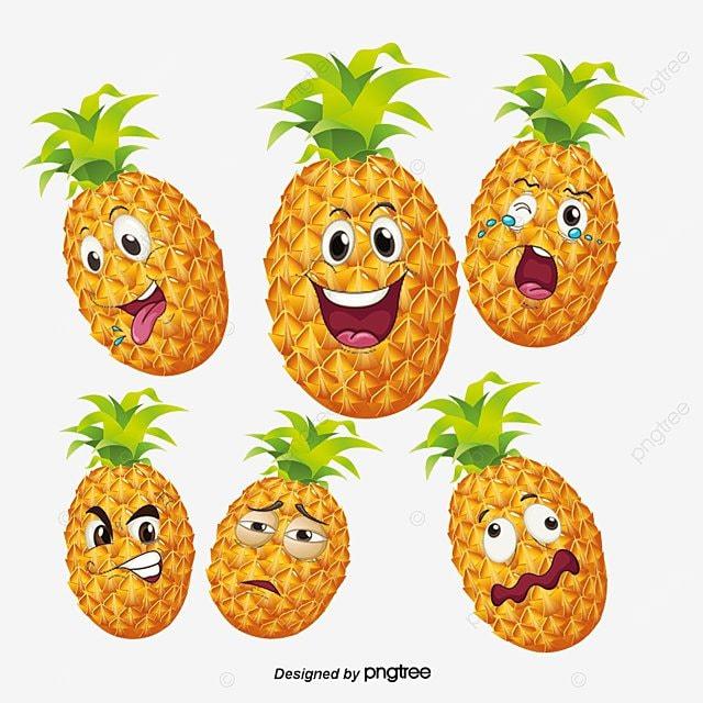 le dessin de l expression de l ananas dessin de pleurer la