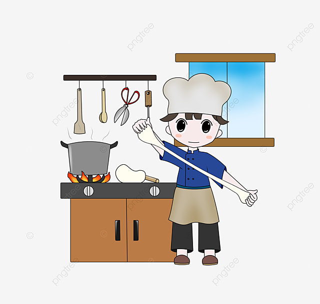 Beauty Chef, Kitchen Knife, Spoon, Cook PNG and Vector for Free Download