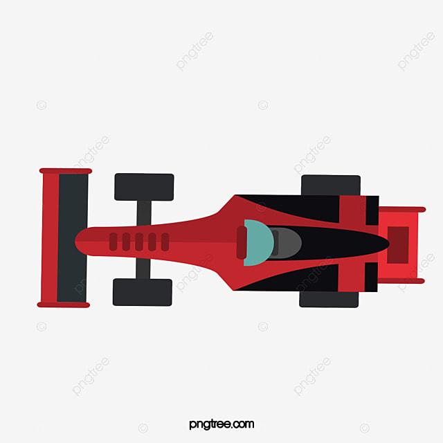 F1 Car Top View Car Clipart Car Overlooking Racing Car