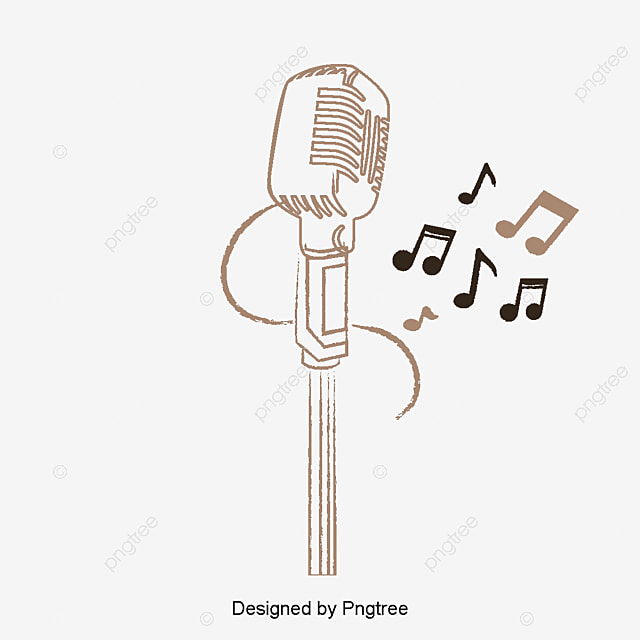 vector light music microphone vector music microphone