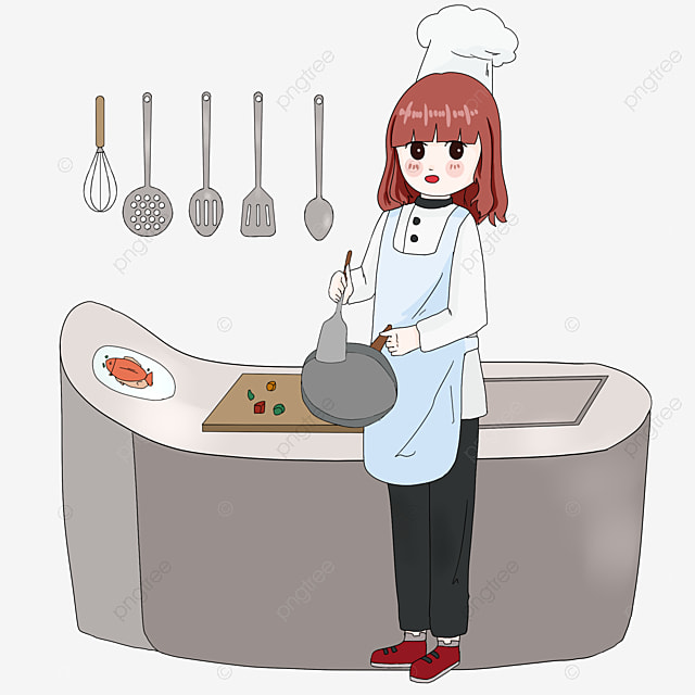 a cozinheira personagens cartoon o cozinheiro png e. Black Bedroom Furniture Sets. Home Design Ideas