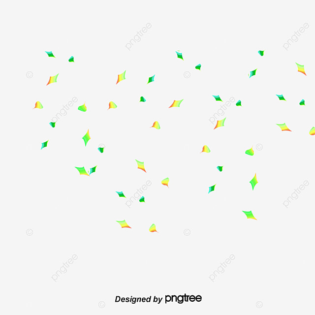color paper falling down material paper png and psd file for free