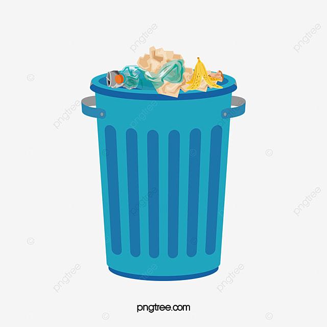 cartoon trash can cartoon trash can green png image and clipart rh pngtree com cartoon trash can clipart trash can clipart free