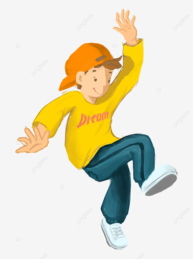 cartoon hand painted boy girl jumping joy  cartoon  hand coming soon clip art border free coming soon clip art border free