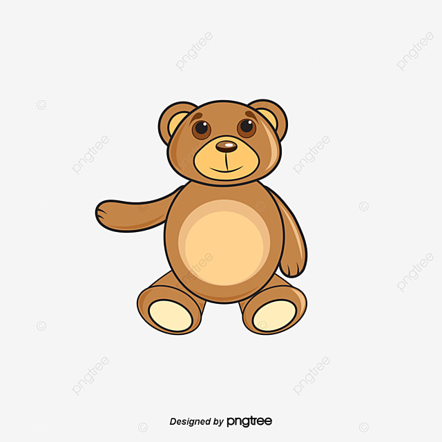 vector teddy bear material vector material toy plush toys png and rh pngtree com teddy bear vector images free download teddy bear vector free