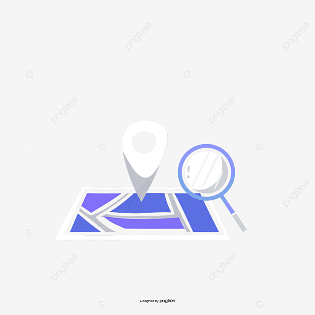 Cute Satellite Positioning Vector, Map, Navigation, Gps