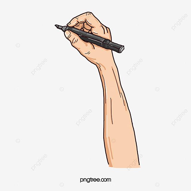 يد تمسك القلم الكتابة المرسومة كتابة اليد لفتة Png وملف Psd للتحميل مجانا