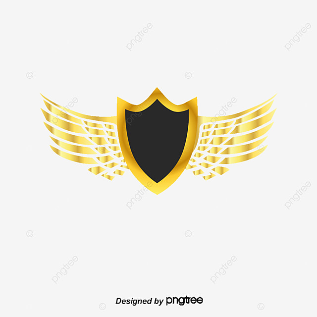 Wing Gold >> Vector Hand Painted Gold Wings Vector Hand Painted Gold Png And