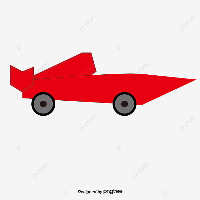 Red Racing Car Vector Png And