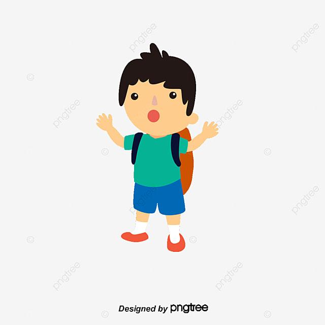 Sekolah Anak Laki Laki Sekolah Anak Laki Laki Kartun Png Dan Vektor