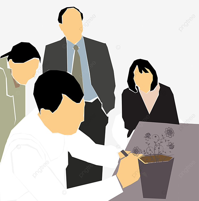 to discuss the meeting meeting meeting cartoon png and vector for