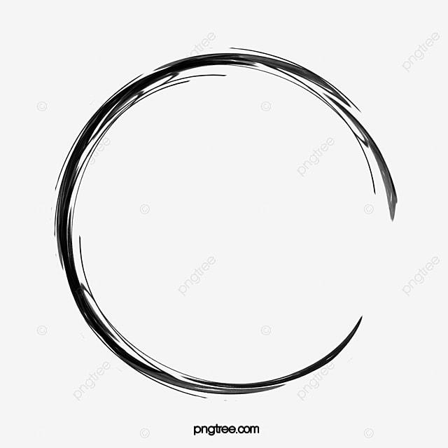 Brosse A Encre Simple Encre Clipart De Cercle Brosse Facile Fichier Png Et Psd Pour Le Telechargement Libre