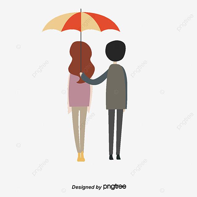 Dessin Amoureux Couple le petit couple d amoureux rose le petit couple dessin fichier png