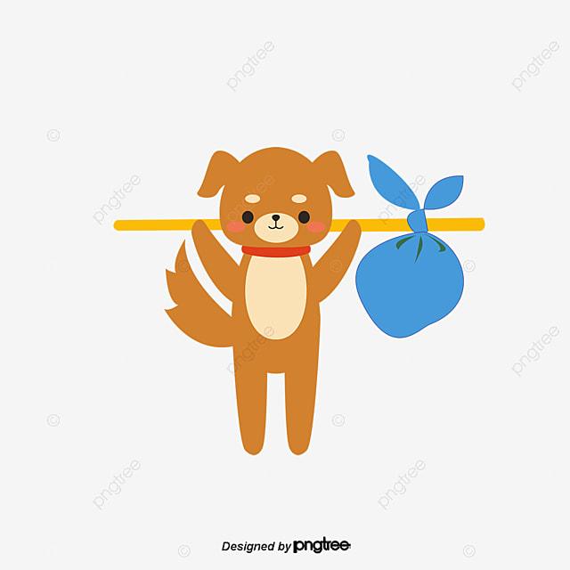 Evitar El Fondo Transparente Perro Manchado Perro PET Pintado A Mano ...