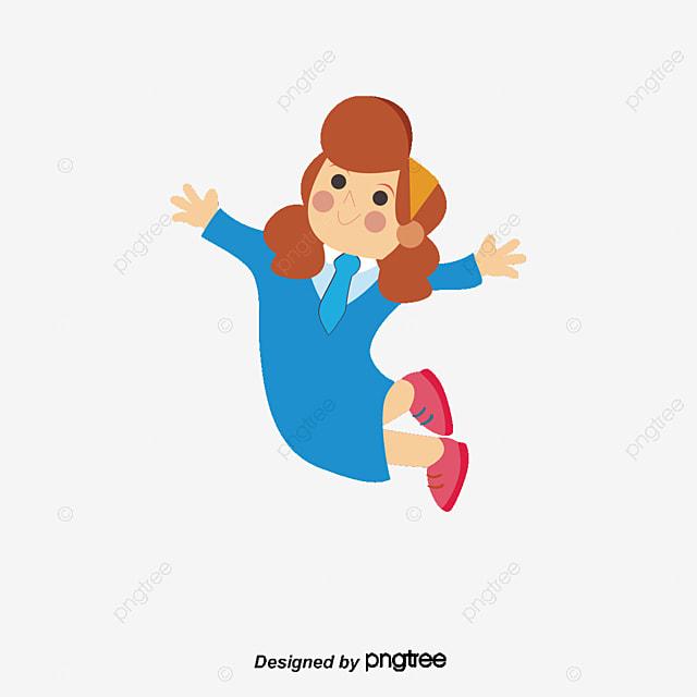 Jumping Girl, Jump, Gi...