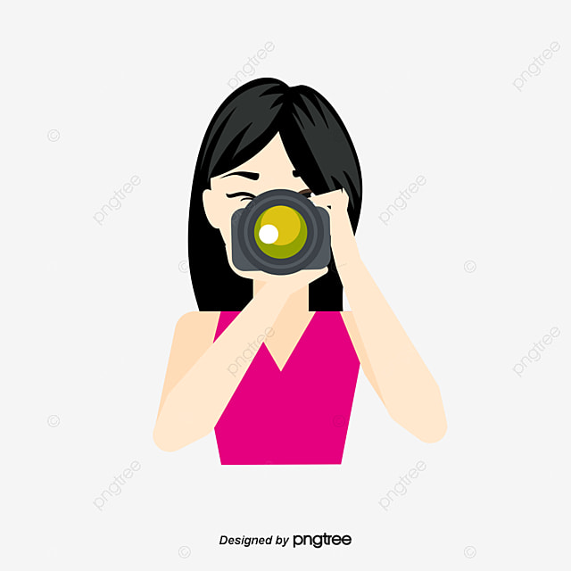 photographe de dessin vectoriel vecteur dessin photographe