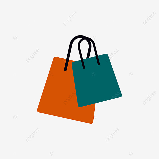 Portable Color Shopping Bags Color Clipart Shopping Bag Color Png