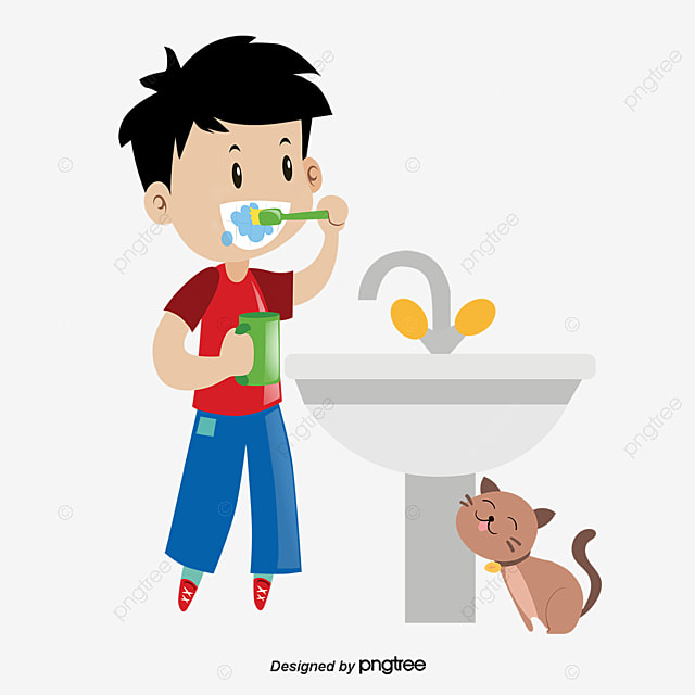 Children Brush Your Teeth_2924309 on Toothbrush Clip Art