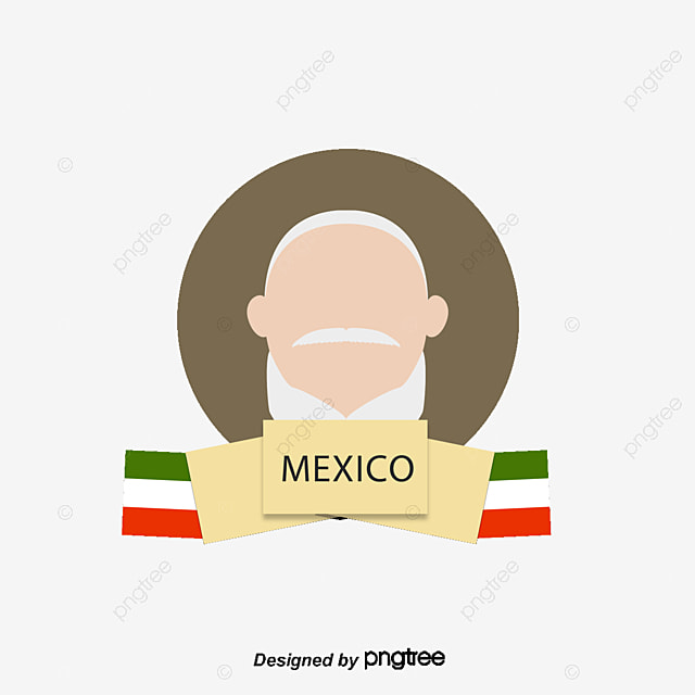 vector hand painted mexican constitution vector hand painted