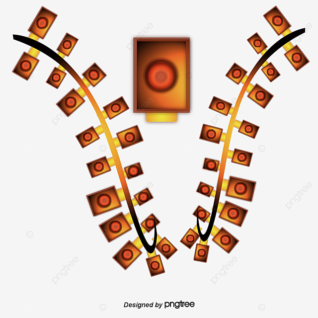 String Of Xmas Lights Clipart: String Of Light Elements, Light Vector, Light, Cartoon PNG