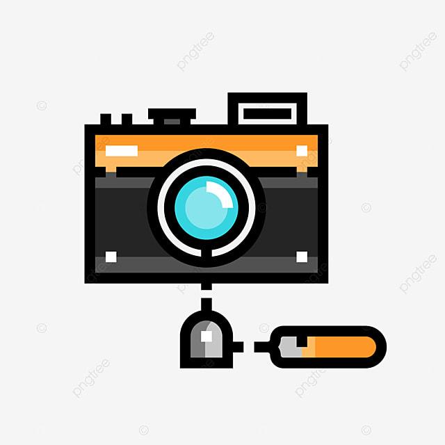digital camera stroke camera clipart hit color shutter png image