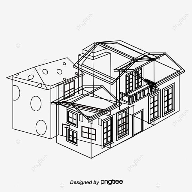Pintado a mano de dise o arquitect nico pintado a mano for Programas de diseno arquitectonico gratis