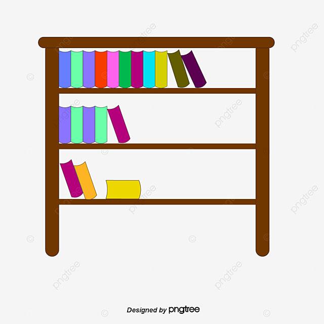 3d7d4d463cc66 Elementos De Biblioteca Estanteria Libros Aprender Archivo PNG y PSD ...