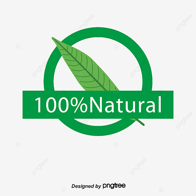 vector 100 natural all natural leaf decoration png and vector