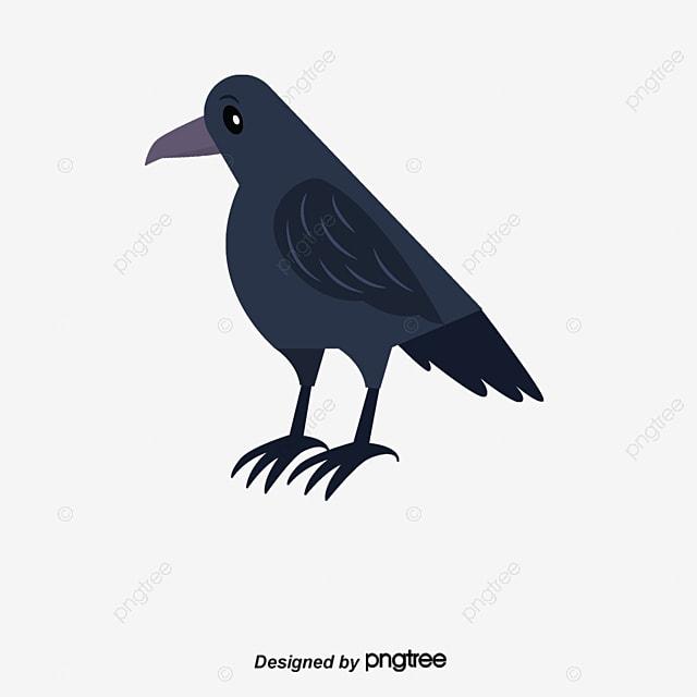 Gambar Vektor Gagak Hitam Nasib Buruk Burung Burung Gagak Vektor Png Dan Psd Untuk Muat Turun Percuma