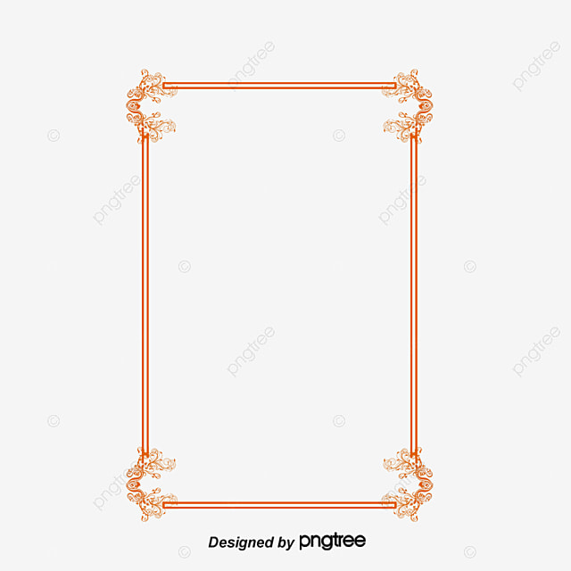 european lace red festive year frame border vector european style festive new year