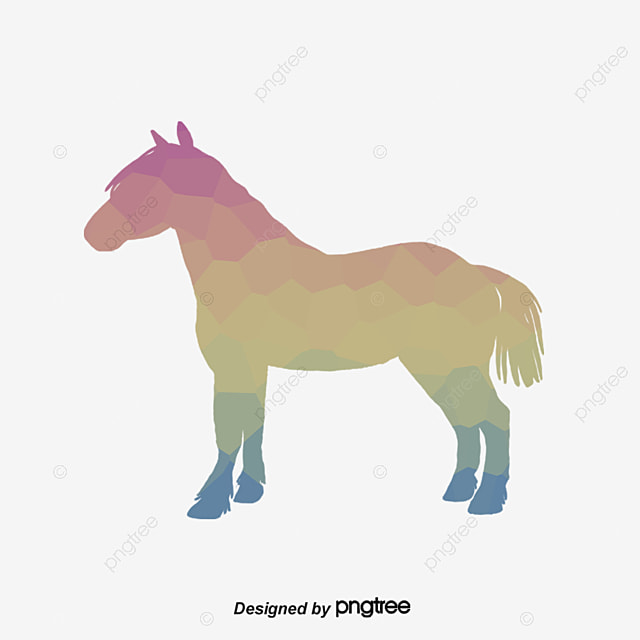 Origami Horse Horses Lowpoly PNG And Vector