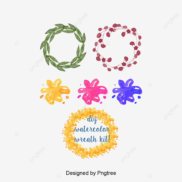 Floral Flowers Round Flower Frame Vector Box Small Fresh PNG And