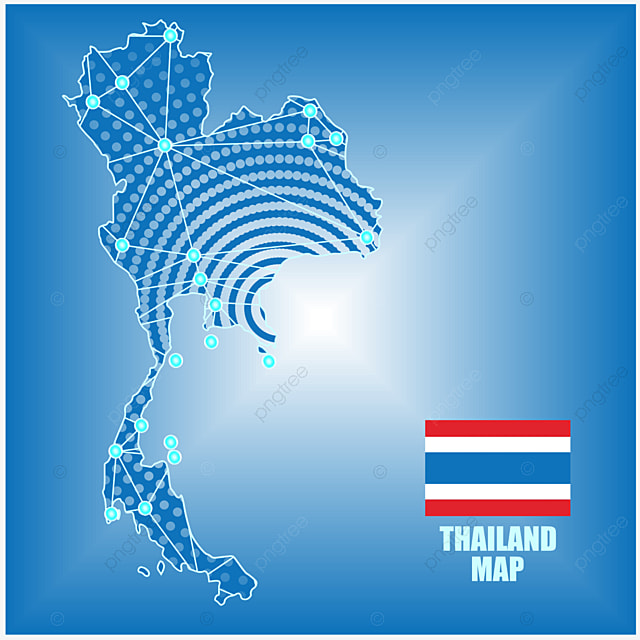 Map Of Thailand Map Png Picture Leave The Material Png Image And