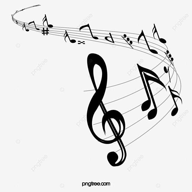 notas musicales musica nota pasos imagen png para