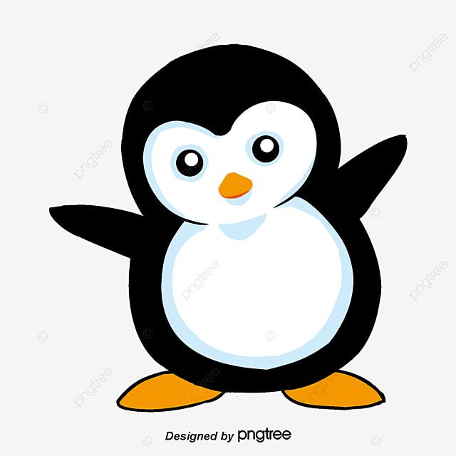Joli dessin peint la main des pingouins des personnages de dessins anim s les pingouins de - Dessin anime les pingouins ...