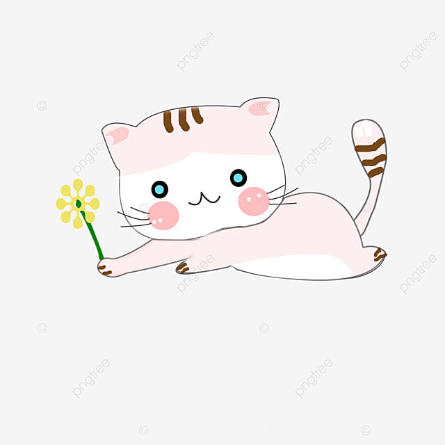 cartoon mignon petit chat dessin mignon petit chat image