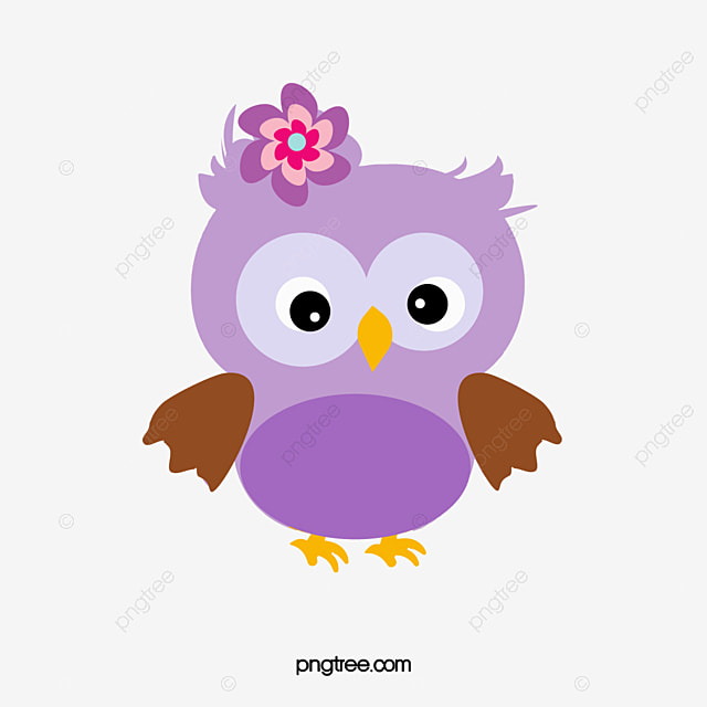purple owl cartoon hand painted purple png image and clipart for rh pngtree com Purple Owl Birthday Clip Art Pink Owl Clip Art