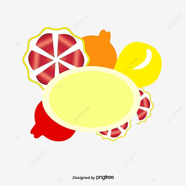 cr u00e9ation de vecteur de fruits summer bordure de plantes
