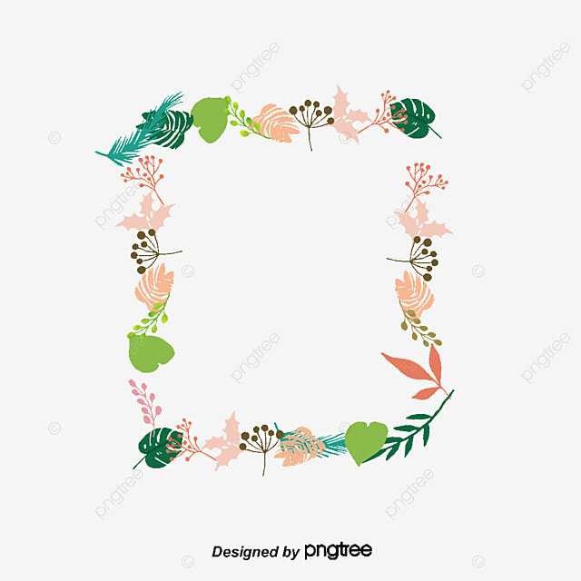 Vector Summer Plant Borders Border Png And